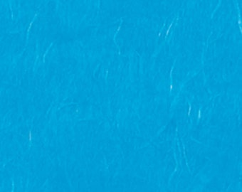 "Pack of 5 sheets of rice paper to decoupage color ""Turquoise"", gr 16 cm 64x94"