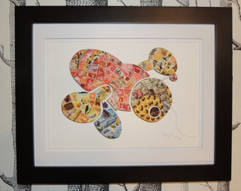 A3 Limited Edition Buzzy Bee Print