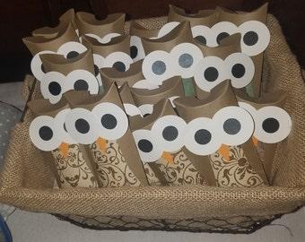 Pillowbox Owl Party Favors (20)