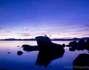 Purple Twilight- Fine Art Landscape Print