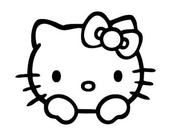 Hello Kitty Style 2 Vinyl Decal