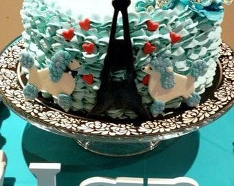 Paris Cake Decoration Set - Acessories