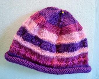 Cap Peony baby baby Hat girl