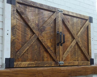 Custom Made Barn Door Gate
