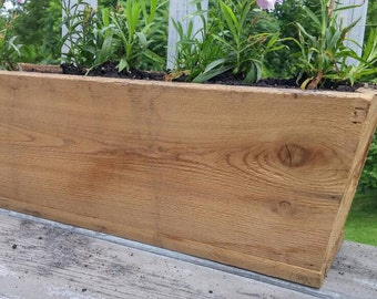 Tapered Cedar Planter Box