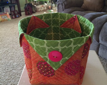 Quilted basket