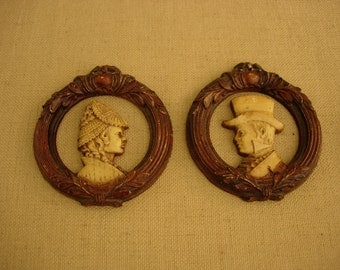 Cameo's Victorian Style (Pair)