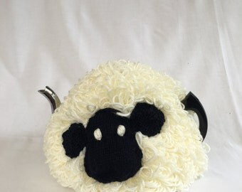 Knitted Sheep Tea Cosy