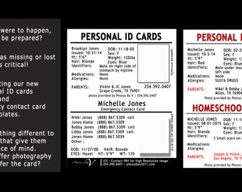 Personal ID Cards