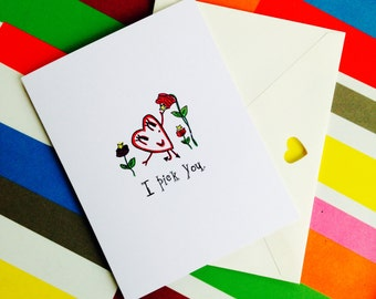 Love greeting card, anniversary card, new love card, I love you card, happy anniversary card, greeting card,