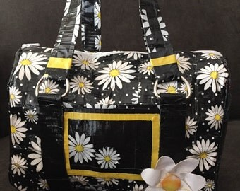 Daisy Duct tape Purse