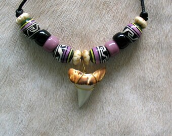New Mako Shark Tooth Necklace  #3