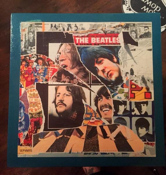Beatles Table By Hellololalolita On Etsy