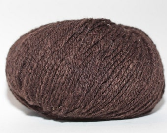 Elsebeth Lavold Silky Wool XL, color #017, lot 64  Dark Brown
