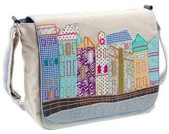 """Canvas shoulder bag """"Boulevard"""""""