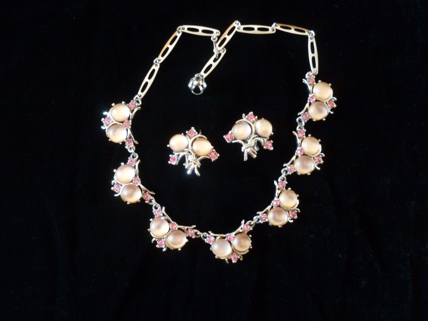 pink moonstone jewelry vintage - photo #4