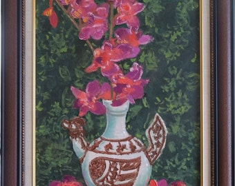 Orchid Flower, Pink Flower, Orchid, Flower