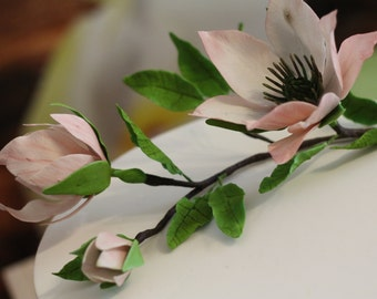 Sugar flowers, unconventional, wedding, birthday, occasions, handmade, pie