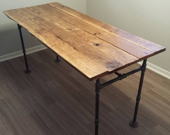 Custom Reclaimed Wood Dining Room Table