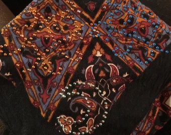 Grateful Dead bandana with Bling