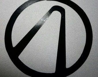 Vinyl Decal - Borderlands Logo