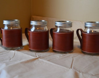 Mason Jar Wraps (Set of 4)