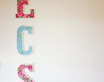 Lily Pulitzer Letters - Wall Decor