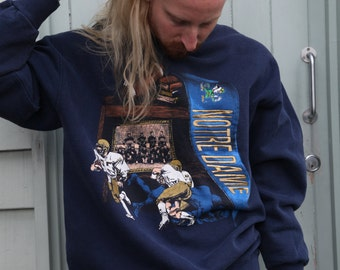 Embroidered Notre Dame Sweater