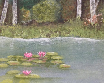 Lily Pond Card