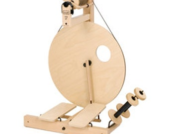 LOUET S10 DT (Double Treadle) Spinning Wheel (finished) - Free Shipping