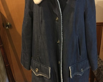 70's/80's Denim Coat