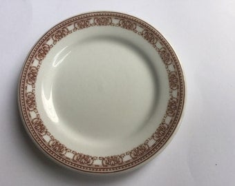 Carr China ideal rare vintage old plate NEW LOWER PRICE estate find Grafton saucer dinnerware China restaurant ware setting piece