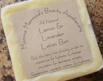 Lemon & Lavender Lotion Bar