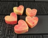 Rhubarb & Custard Mini Melts, Soy Wax Melts, Soy Wax Mini Melts, Soy Wax Heart Melts, Scented Wax Melts, Heart Melts, Home Fragrance