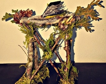 Miniature Fairy Table With Book