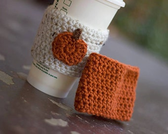 Cozy Coffee Cozy Pumpkin Coffee Cozy