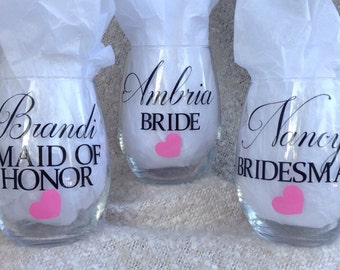 Bridal Glasses