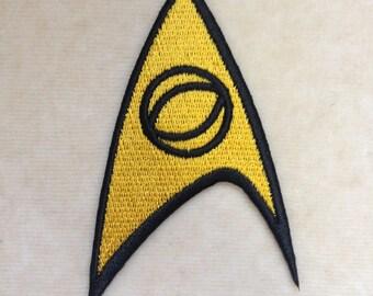 Star Trek Science Logo Iron On Patch