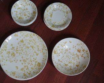 Golden Meadow Sheffield Ironstone Dishes