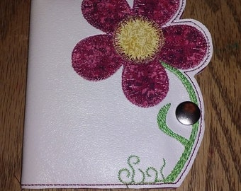 Small Embroidered Note Books