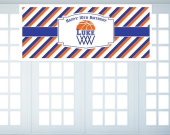 Personalized Basketball Themed Banner (FJM263542-BN)