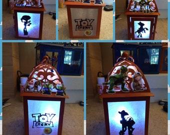 Disney Toy story themed custom lantern/ night light