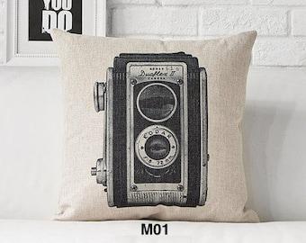 Modern Black and White cushion