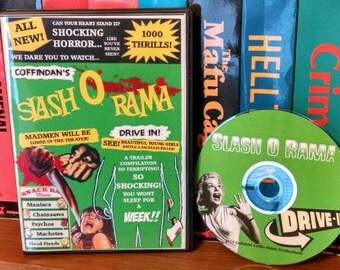 Coffindan's Slash O Rama Drive-In - Classic cult slasher horror trailer compilation