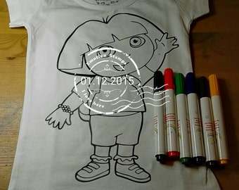 Tshirts for coloring