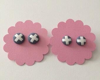 Gorgeous handmade fabric earrings