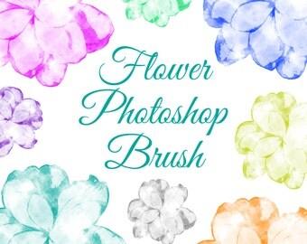 Photoshop Flower, Flower Photoshop, ABR Brush, Flower Brushes, Floral Brushes, Brushes Photoshop, Brushes Digital, Brush