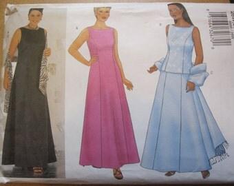 Pattern BUTTERICK 6888 evening dress