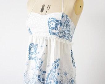 Reworked Vintage printed dress