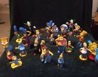 Simpson figurines Lot